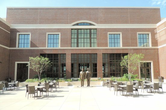 The George W. Bush Presidential Library and Museum: Courtyard
