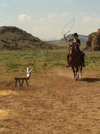 Badger Creek Ranch: Roping