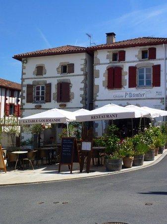 La table gourmande : la terrasse