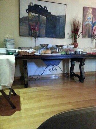 Art Hotel: breakfast