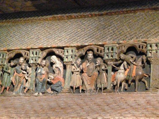 Basilica de San Vicente : DETAIL DU COFFRE DES MARTYRS