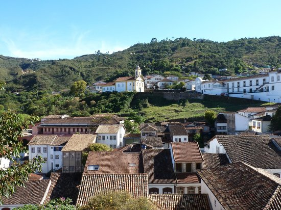 Pouso do Chico Rei: The best from the room: the view. Beautiful