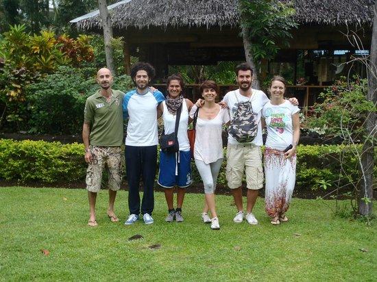 Nypa Style Resort Camiguin: gli ospiti e i padroni di casa