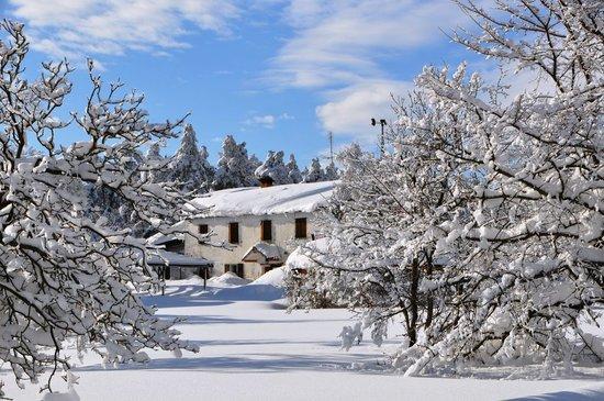 La Baita: la nevicata del 10'