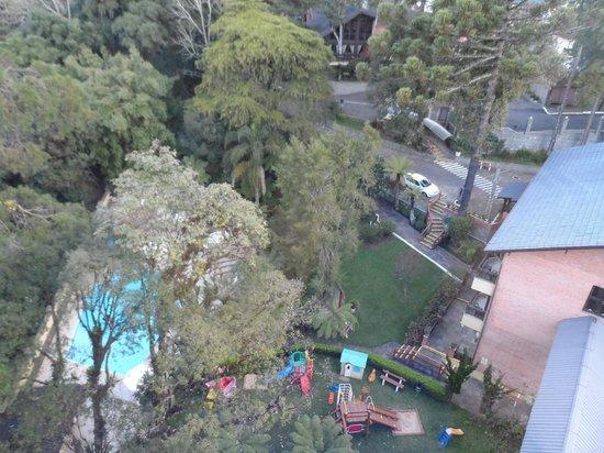 Hotel Recanto da Serra: Vista do mirante
