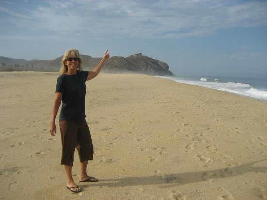Arriba de la Roca: Me on the beach down from Arriba