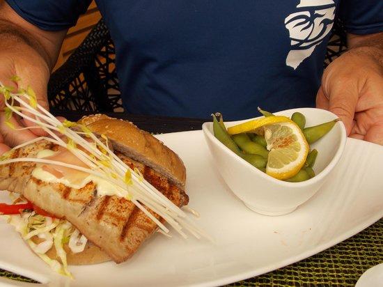 Ko Restaurant: Ahi sandwich