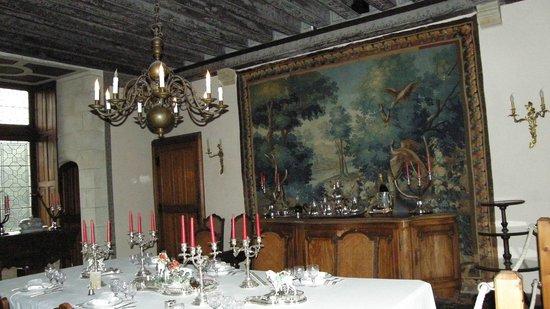Château de Montpoupon : Un interno