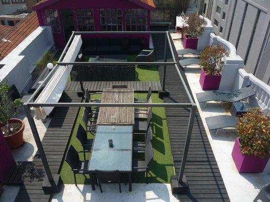 Rivoli Cinema Hostel : Terrace