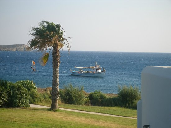 Poseidon of Paros: Θέα από το δωμάτιο