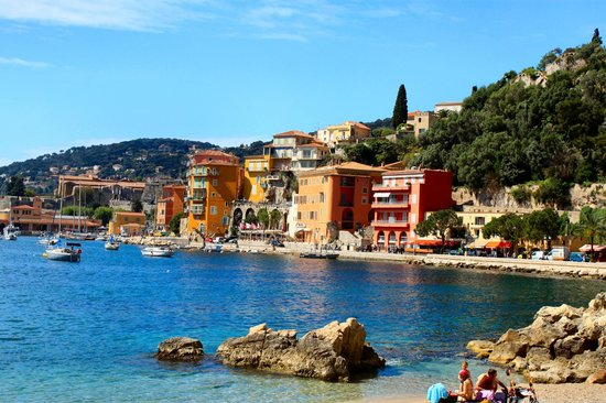 Beach Picture Of Villefranche Sur Mer French Riviera