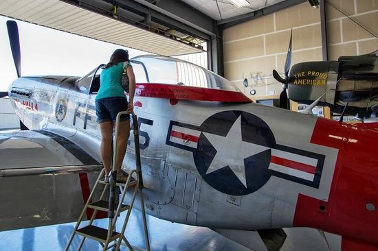 Heritage Flight Museum : Up close and personal