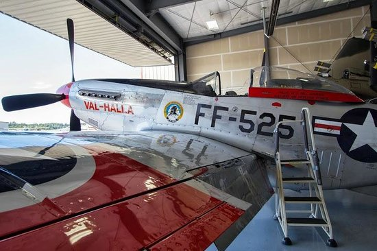 Heritage Flight Museum : Plane in the collection