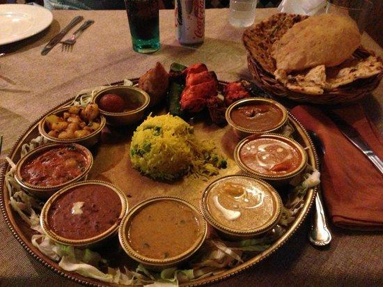 Non-Vegetarian Thali - Picture of Alibaba Tandoori & Curry Restaurant ...