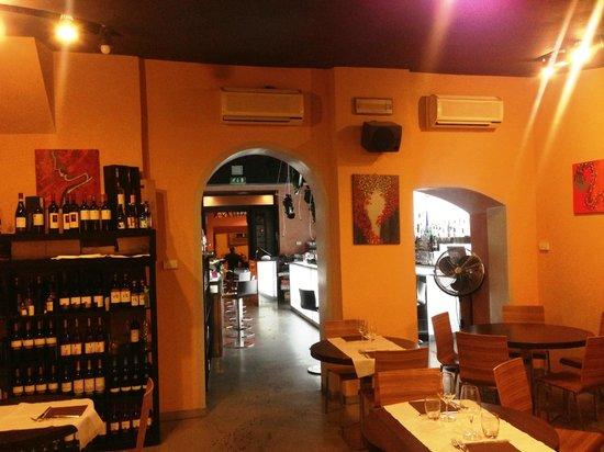 Ristorante Santopalato : L'interieur.