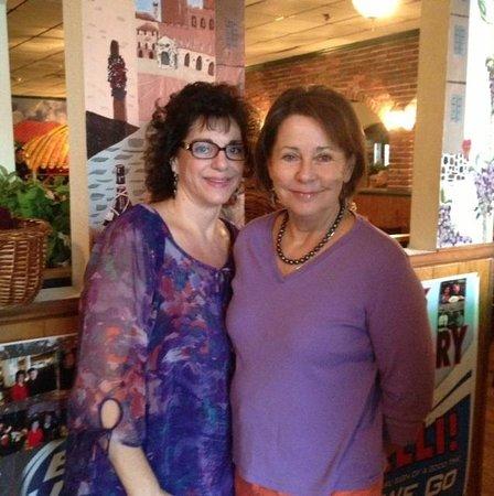 Bambinelli's Pizza & Pasta: Bonnie Bambinelli, proprietor, on left