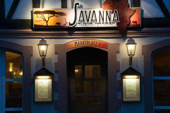 Restaurant Savanna: das Restaurant