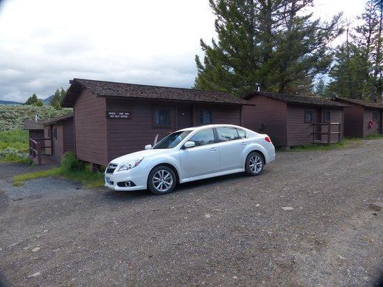 Roosevelt Lodge Cabins: cabin area
