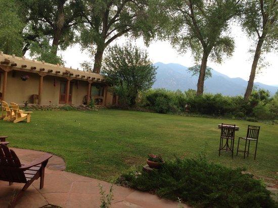 Hacienda del Sol: View from The Cowboy Room.