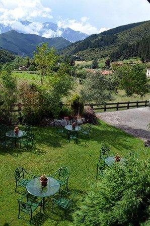 Hotel Posada La Casa de Frama: jardin
