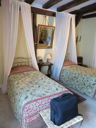Le Logis du Bief : one of the lovely rooms