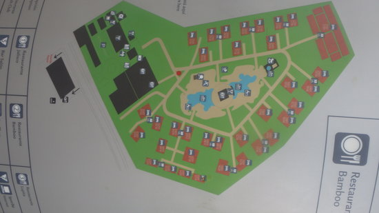 ClubHotel Riu Tequila: resort map
