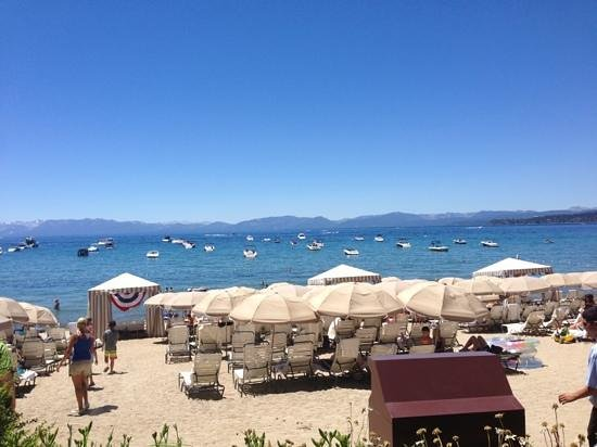 Hyatt High Sierra Lodge: Tahoe Beach at Hyatt