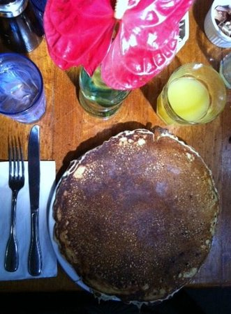 Charley's Restaurant: One buttermilk pancake at Charley's