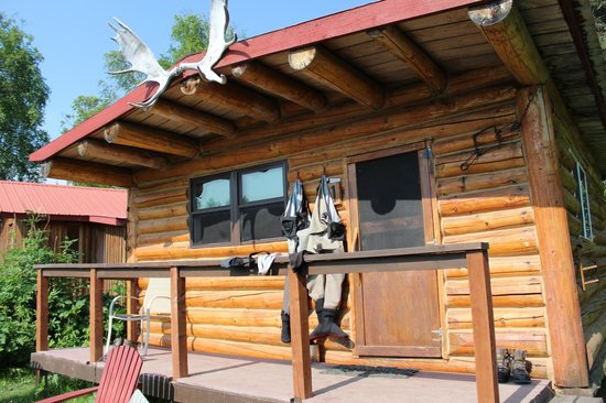 Alaska Fishing Lodge - Wilderness Place Lodge: Our Taj Mahal in the woods
