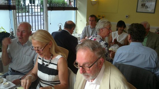 RSJ: Group in private dining room