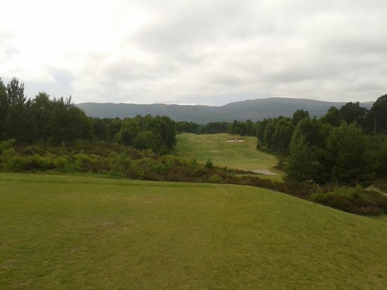 Spey Valley Golf Course: Gie it a big skelp .