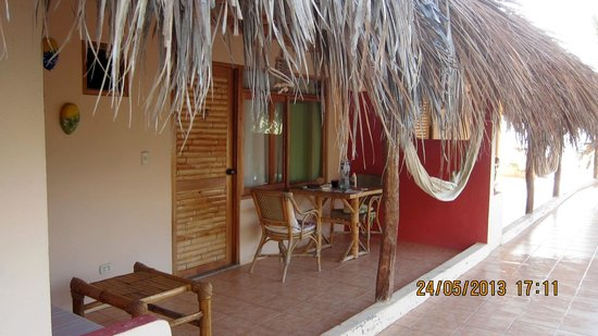 Claro de Luna Hotel: Private terrace with hammock