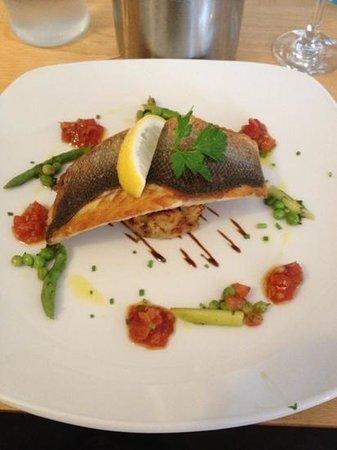 Memories restaurant: beautiful Sea bass