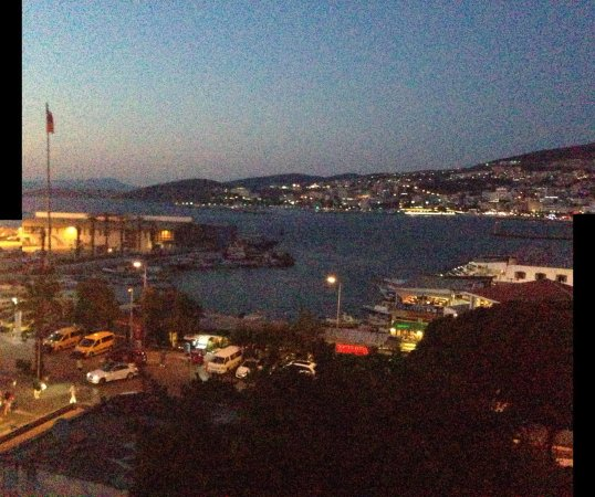 Mr Happy's - Liman Hotel: Best views in town!