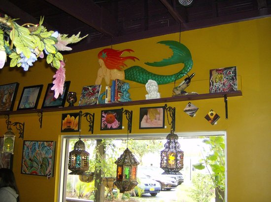 """Kilted Mermaid: The beautiful eclectic decorations are also one of my favorite things about """"the Mermaid!"""""""