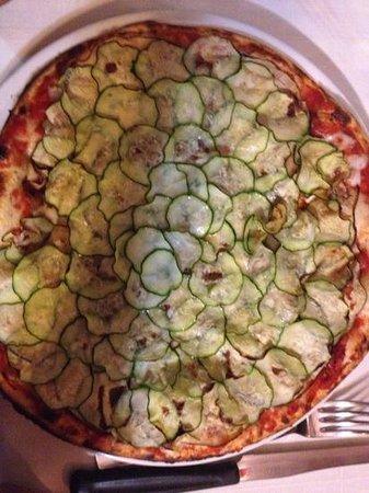 Pizzeria Lo Sghello: Pizza vegetariana