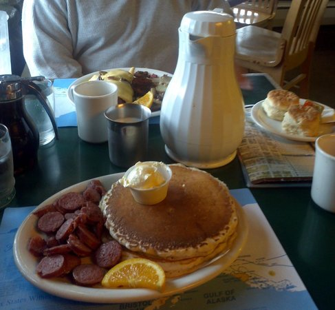 When You Find Yourself In Alaska Aka The Last Frontier Head To Anchorage S Snow City Cafe A Breakfast Spot That Extends Its Hours On Weekends