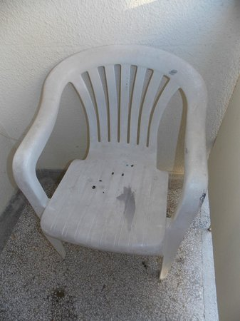 Igalo, Montenegro: chair on the terrace/Stolica na terasi