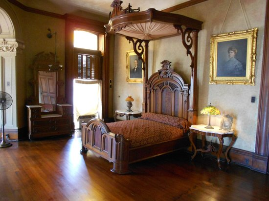 Bishop's Palace: One of the bedrooms