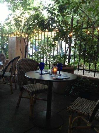 Lucca Restaurant Outdoor Patio