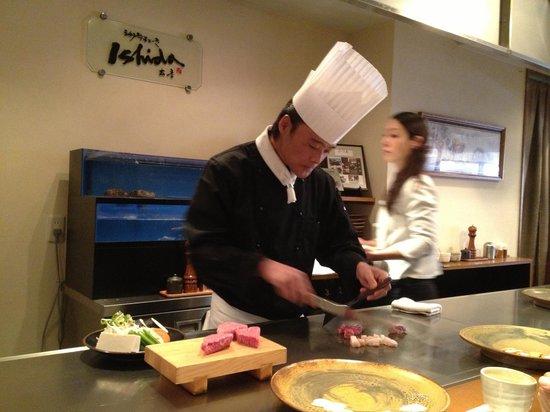 Kobe Ishidaya: Our chef