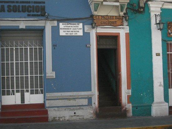 La Posada del Cacique: Entrance