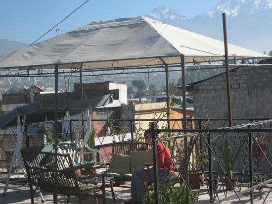 La Posada del Cacique: Rooftop terrace