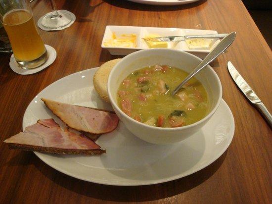 New Dorrius: Pea soup