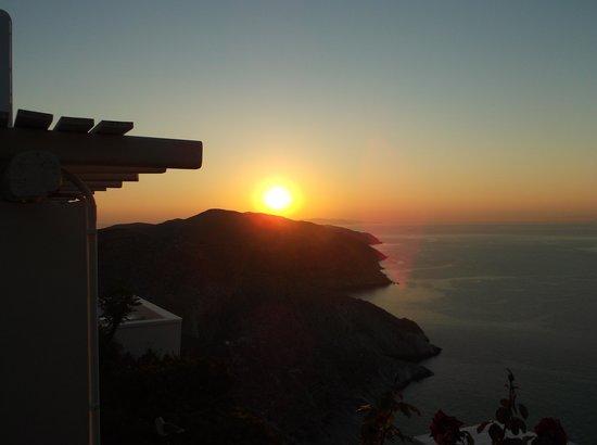 Folegandros Apartments: Sunset