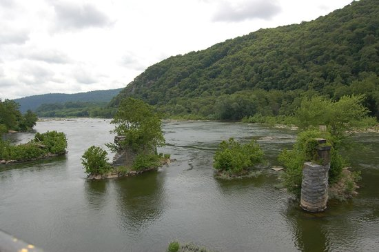 Harpers Ferry KOA: The Shenandoah River
