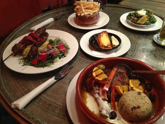 Casablanca Cafe: A delicious feast!