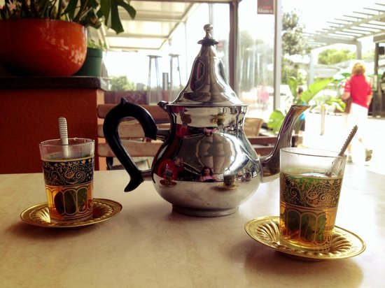 Casablanca Cafe: A spot of Moroccan Mint tea