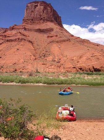 Adrift Adventures Dinosaur National Monument: Rafting on the Colorado River (c) 2013