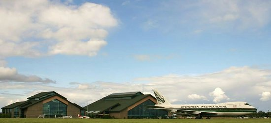 Evergreen Aviation & Space Museum: Hanger Type Buildings for Planes, Space Stuff and a Theatre